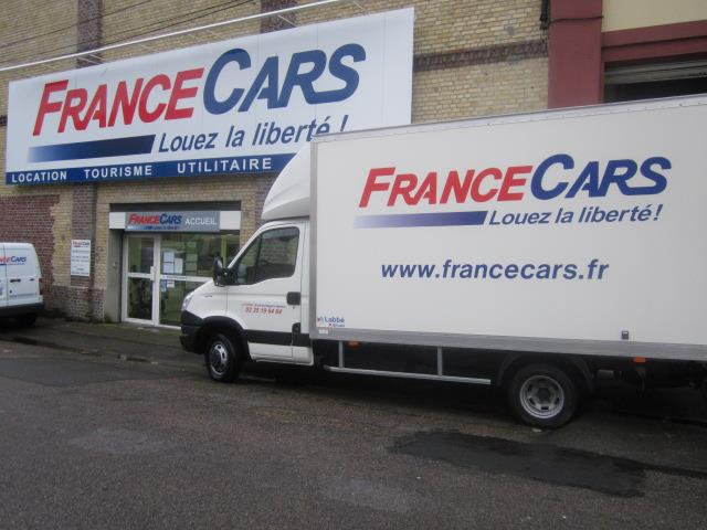 Location de voiture et utilitaire havre france cars for Location agence