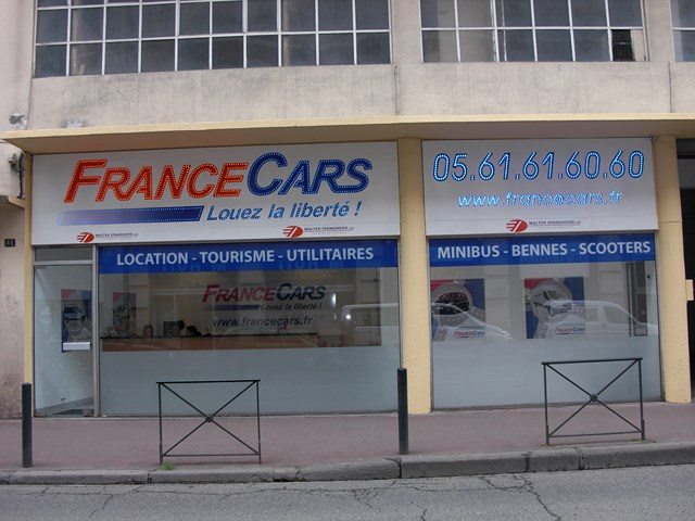 location de voiture et utilitaire toulouse centre france cars. Black Bedroom Furniture Sets. Home Design Ideas