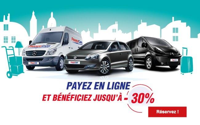 location véhicules : location de voitures et utilitaires - france cars